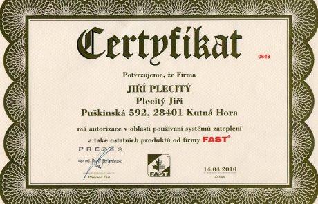 Certifikát5