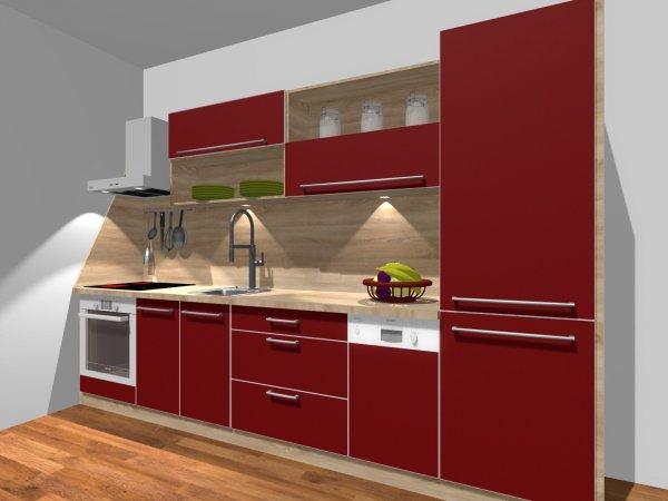3D návrh kuchyňské linky