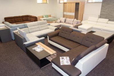 RAST-KH - prodejna - sedací soupravy a nábytek - interier
